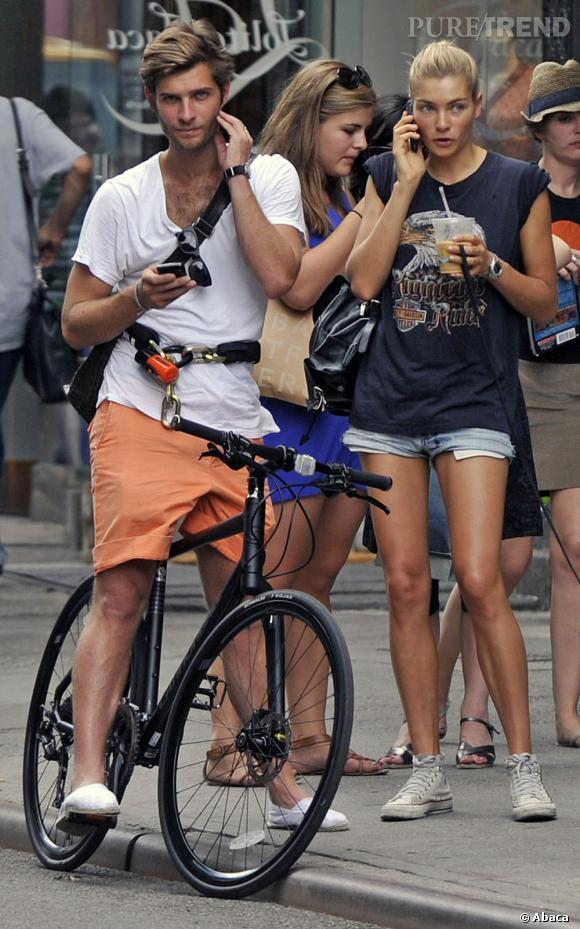 Jessica Hart et l'un de ses boyfriends à New York.