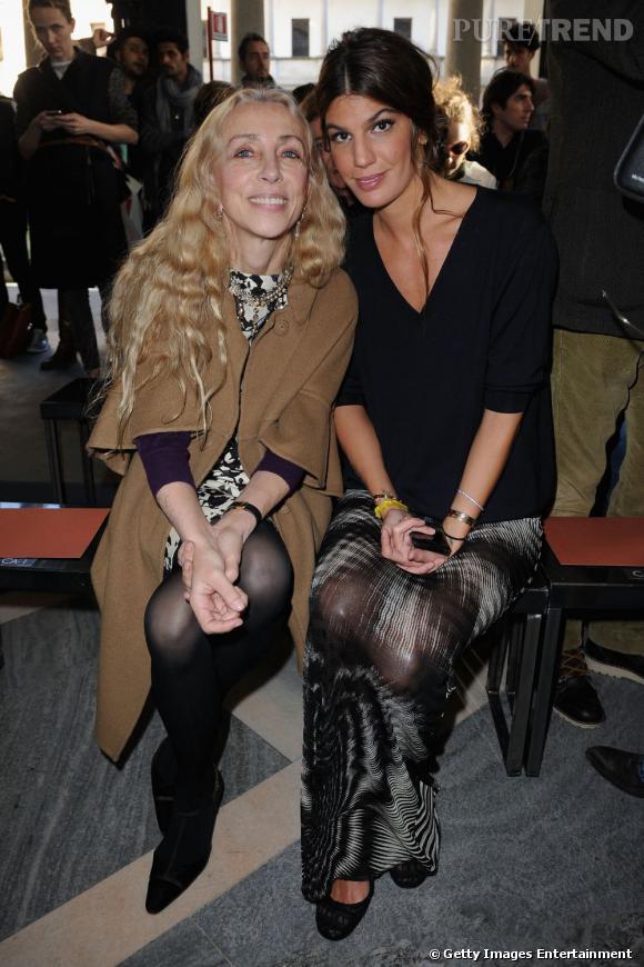 Franca Sozzani et Bianca Brandolini d'Adda chez Missoni.