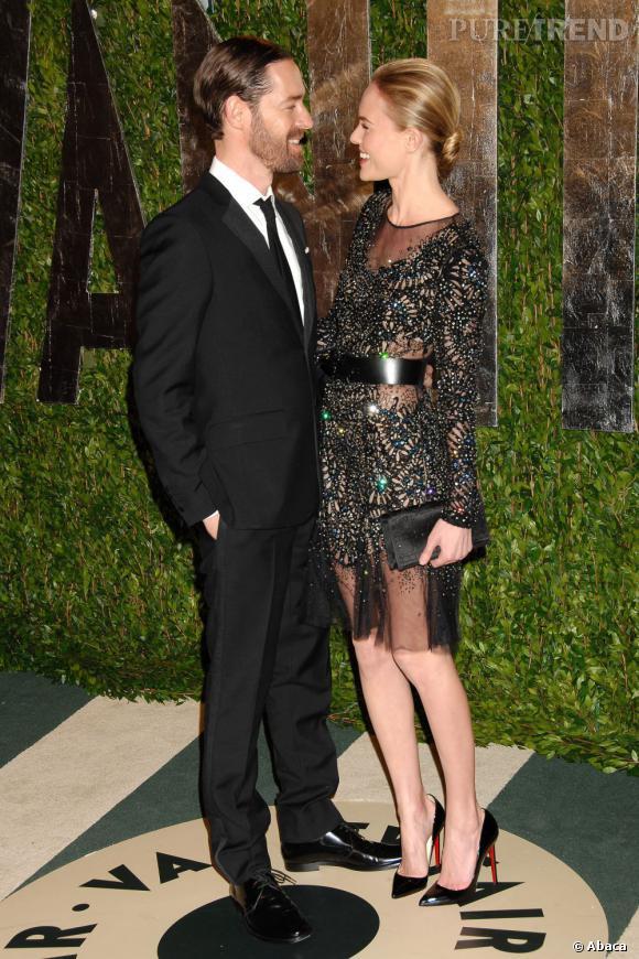Kate Bosworth et son compagnon Michael Polish forment un joli couple sur le red carpet.