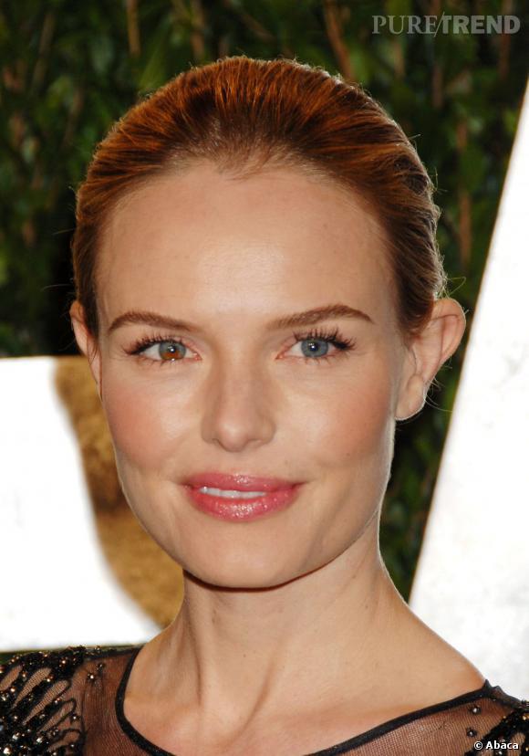 Kate Bosworth choisit un beauty look simple mais efficace.
