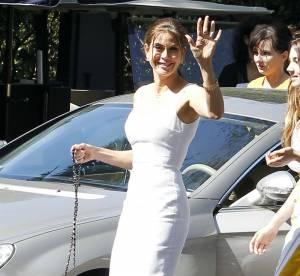 Teri Hatcher, la petite robe blanche