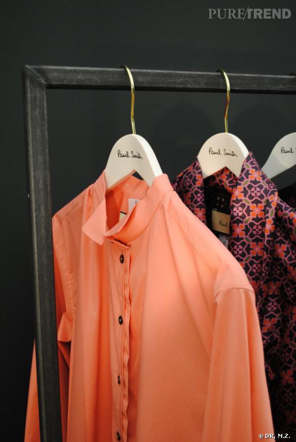 Fashion Week de Paris : dans le showroom de Paul Smith Collection Automne-Hiver 2012/2013