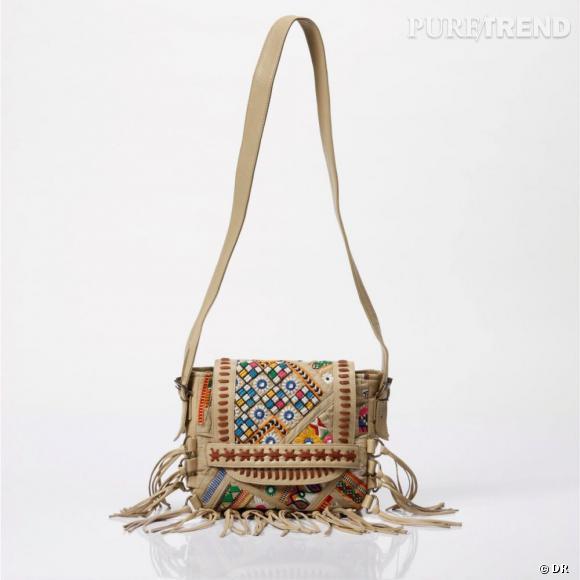 7457525be2 Sac à main en cuir Antik Batik pour La Redoute, 150 euros A shopper ...