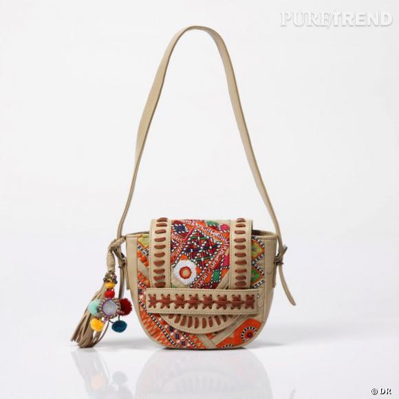 f60c854f16 Sac cuir fillette Antik Batik pour La Redoute, 75 euros. A shopper ici .