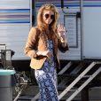 """AnnaLynne McCord sur le tournage de la série """"90210"""" à Los Angeles."""