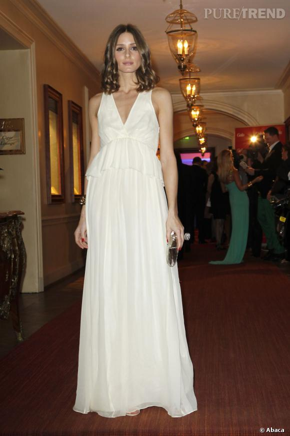 Olivia Palermo au Gala Spa Award à Baden Baden.