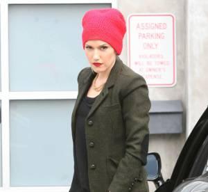 Gwen Stefani, la tête dans le bonnet