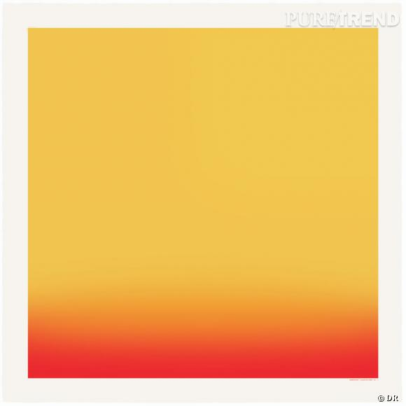 """Carré Hermès Editeur """"Couleurs de l'ombre"""" d'Hiroshi Sugimoto."""