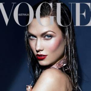 Karlie Kloss pour le magazine Vogue australien. Photographe : Kai Z Feng.