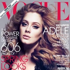 La chanteuse Adele pour le magazine Vogue US. Photographes : Mert Alas et Marcus Piggott.