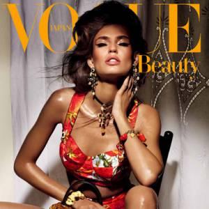 Bianca Balti pour le magazine Vogue Japon. Photographe : Giampaolo Sgura.