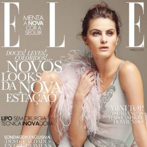 Isabeli Bergossi Fontana pour le magazine Elle Portugal. Photographe : Thomas Schenk.