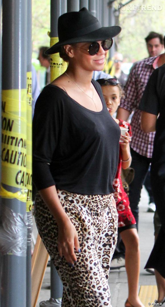 Beyonce dans les rues de New York.