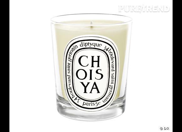 Les bougies parfumées : le bon shopping      Diptyque    Bougie Choisya, 190g, 42 €