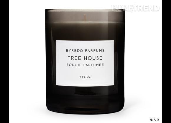 Les bougies parfumées : le bon shopping      Byredo    Bougie Tree House, 55 €