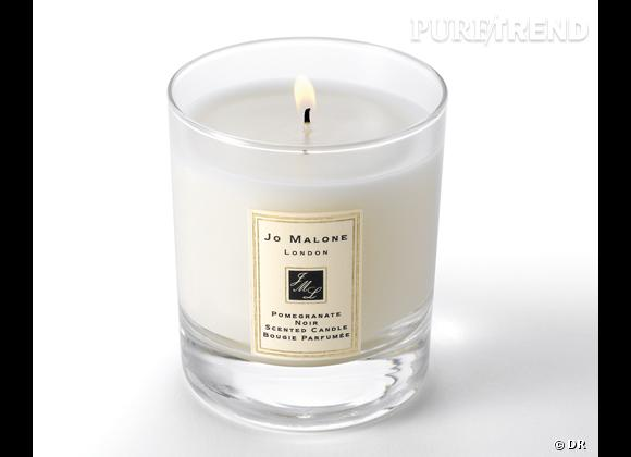 Les bougies parfumées : le bon shopping      Jo Malone    Bougie Pomegranate noir, 50 €