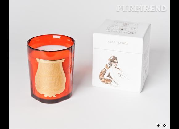 Les bougies parfumées : le bon shopping Cire Trudon Bougie Odalisque de la série Mynott, odeur oranger en fleur, édition limitée, 70 € à partir de mai 2012
