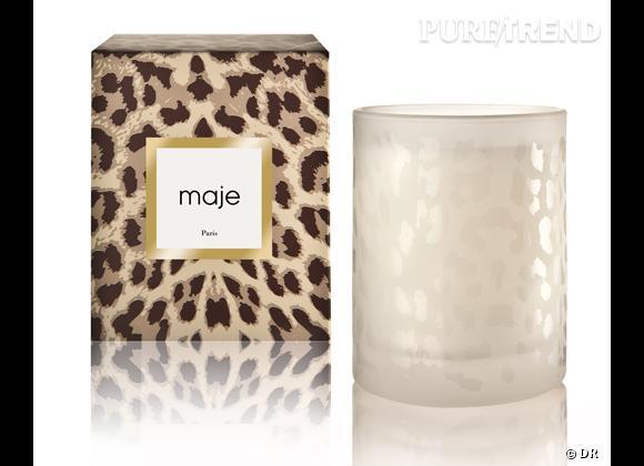 Les bougies parfumées : le bon shopping      Maje    Bougie créée avec le parfumeur Michel Almaira, 40 €