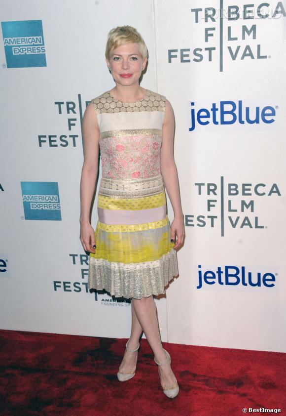 Michelle Williams au Festival de Tribeca.