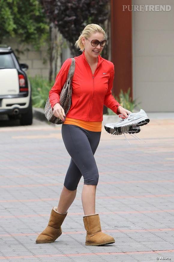Katherine Heigl dans les rues de Los Angeles : c'est le flop.