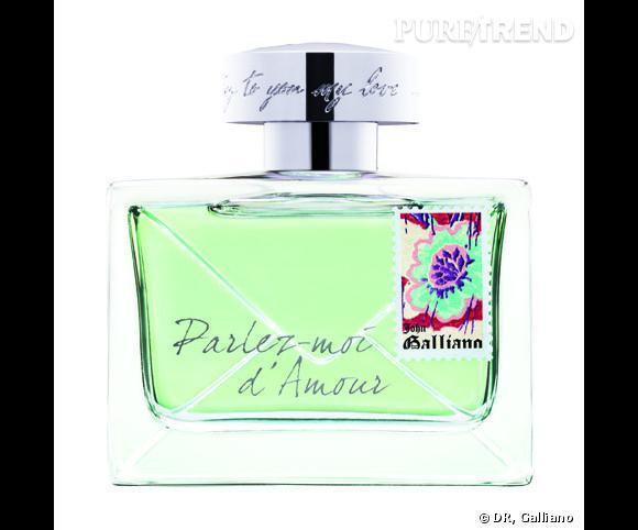 Eau Fraîche, Parlez-Moi d'Amour de Galliano.