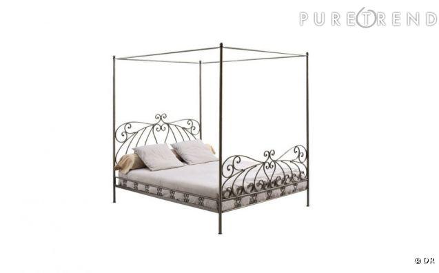 lit baldaquin sheherazad maisons du monde 249 euros. Black Bedroom Furniture Sets. Home Design Ideas