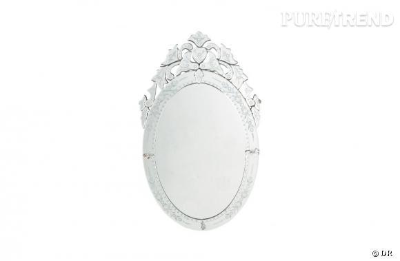miroir vnitien ovale maisons du monde 169 euros
