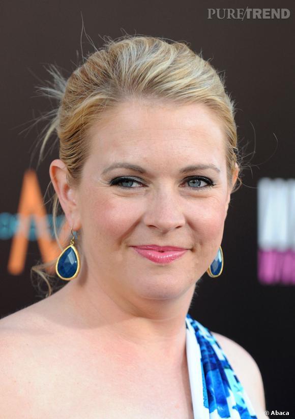 Quelques kilos prix lors de la grossesse épaississent le visage de Melissa Joan Hart