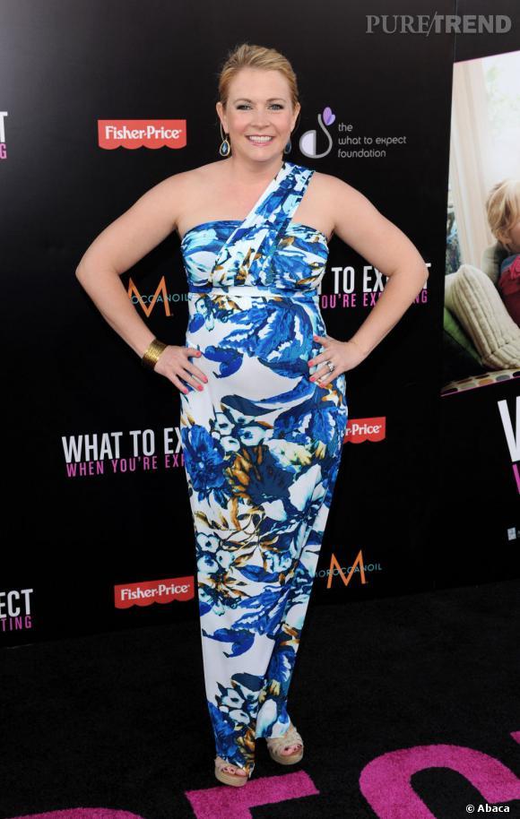 """Melissa Joan Hart enceinte pour la première de """"Ce qui vous attend si vous attendez un enfant"""": une belle coïncidence !"""