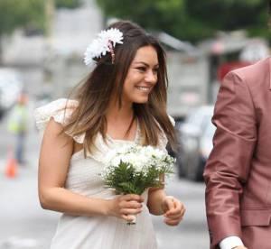 Mila Kunis, vive la mariée !