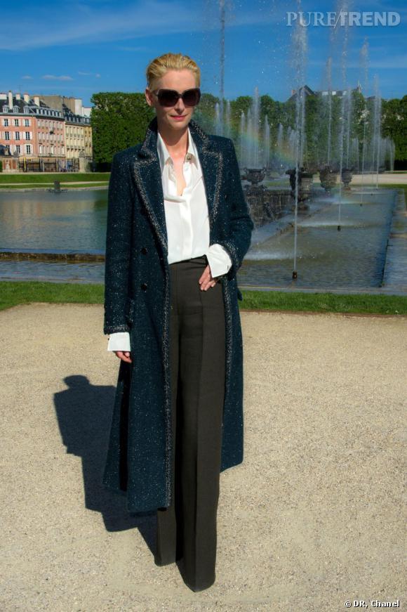 Tilda Swinton, une anglaise chic.