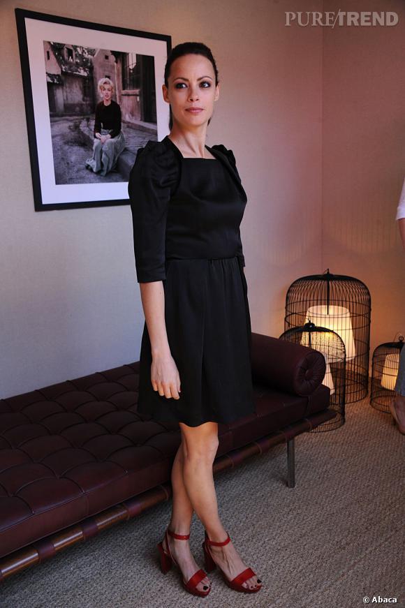 Bérénice Bejo lors d'un photocall avant la cérémonie d'ouverture du Festival de Cannes 2012 le 15 mai.