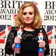 Et 2 brit Awards ! La chanteuse ne repart jamais les mains vides.