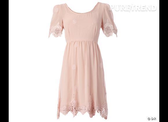 s lection shopping une robe pour aller un mariage robe vila 59 sur wwwmonshoroomcom. Black Bedroom Furniture Sets. Home Design Ideas