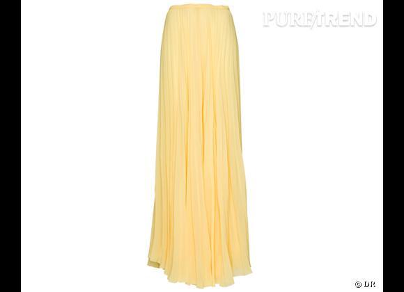 La shopping list preppy idéale pour Roland Garros 2012 !     Jupe plissée Mango, 49,99 €