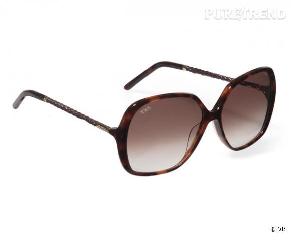 La shopping list preppy idéale pour Roland Garros 2012 !     Lunettes de soleil Scooby Tod's, 308 €