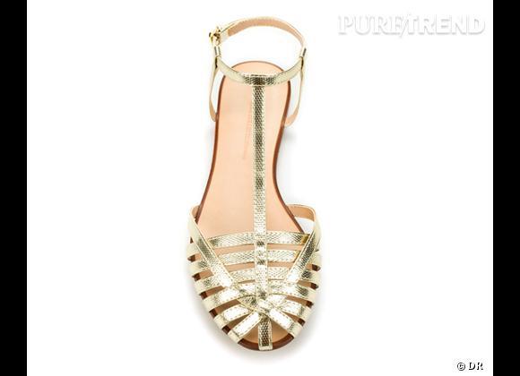 La shopping list preppy idéale pour Roland Garros 2012 !     Sandales Zara, 39,95 €