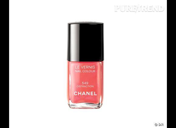 """La shopping list preppy idéale pour Roland Garros 2012 !     Vernis à ongles Chanel, collection """"Roses Ultimes"""", 22 €"""