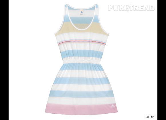La shopping list preppy idéale pour Roland Garros 2012 !     Robe Tennis Le Coq Sportif, 55 €