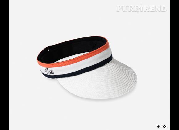 La shopping list preppy idéale pour Roland Garros 2012 !    Visière Roland Garros, 55 €