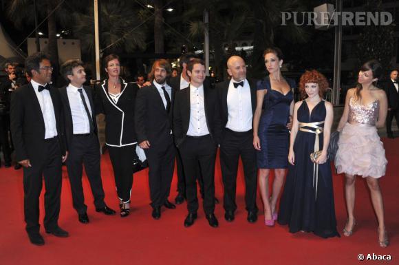 "L'équipe du film ""Maniac""."
