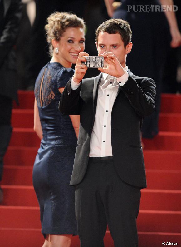 Elijah Wood immortaliserait-il Cannes via Instagram ?