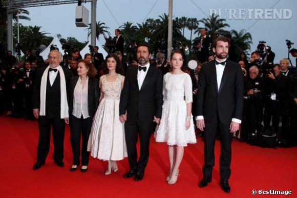 """L'équipe du film """"Thérèse Desqueyroux""""."""