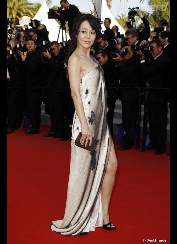 "L'actrice de ""Lost"" Kim Yun Jin."