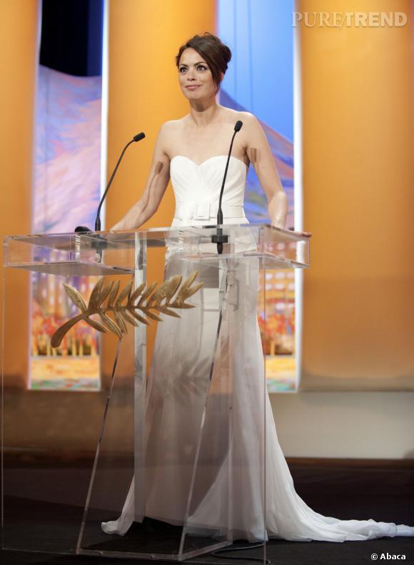 Bérénice Bejo superbe maîtresse de cérémonie.