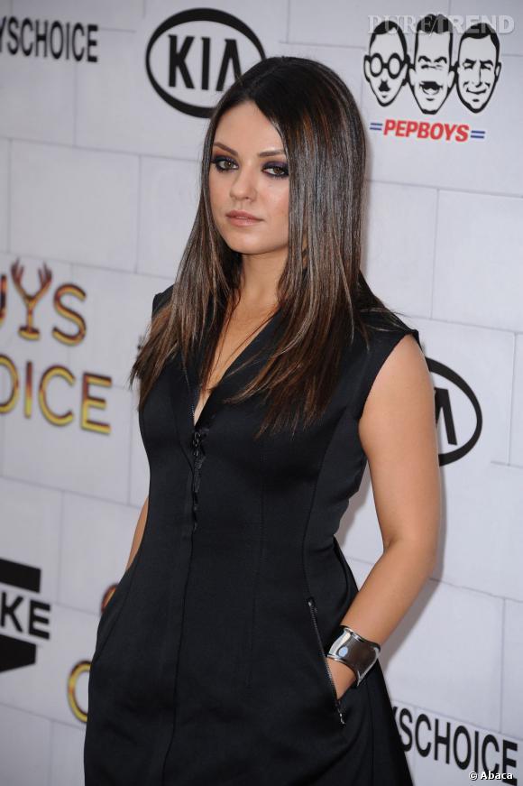 Mila Kunis aux Guys Choice Awards à Los Angeles.
