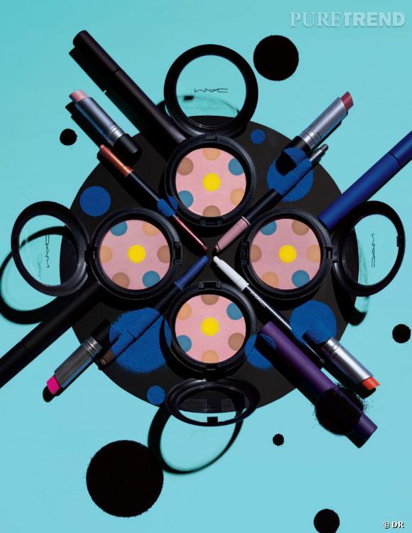 La collection Beth Ditto pour M.A.C. est enfin disponible. On craque pour ses pois et ses couleurs vitaminées.