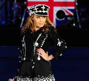 Kylie Minogue met le feu pour le Jubilé