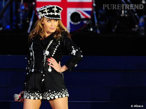 Kylie Minogue, gendarme sexy.