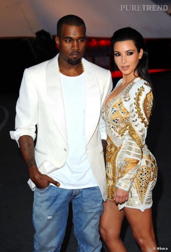 Avec Kim Kardashian en mode lover.